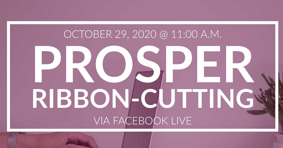 Cover image of Prosper ribbon cutting event